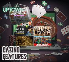 Uptown Aces Casino Features- Legal Australian Casinos